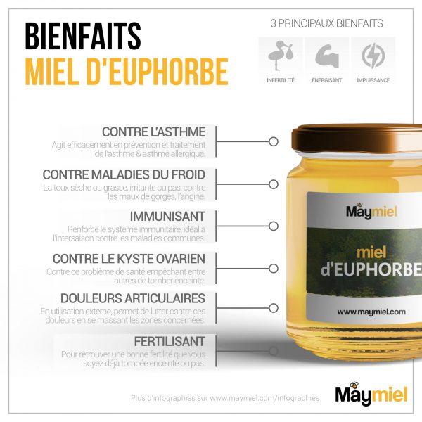 Bienfaits-Miel-Euphorbe
